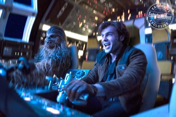 Star Wars Solo Han Chewie