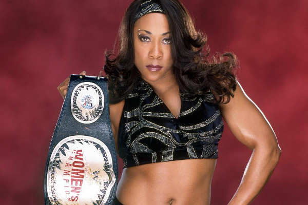 Jazz WWE Women's Champion