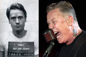 James Hetfield Ted Bundy