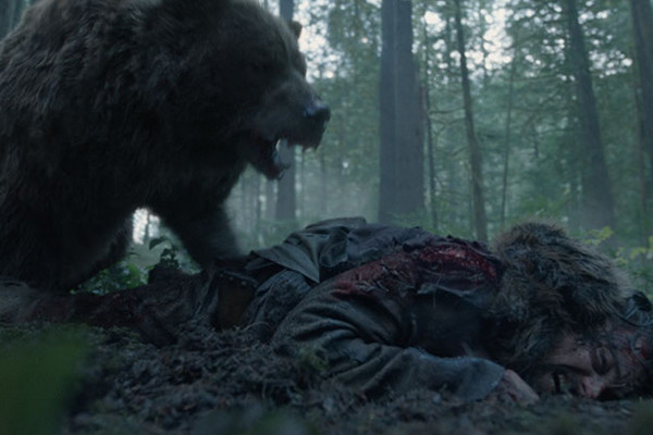 The Revenant Bear Attack