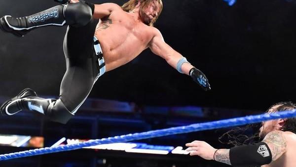 AJ Styles Baron Corbin