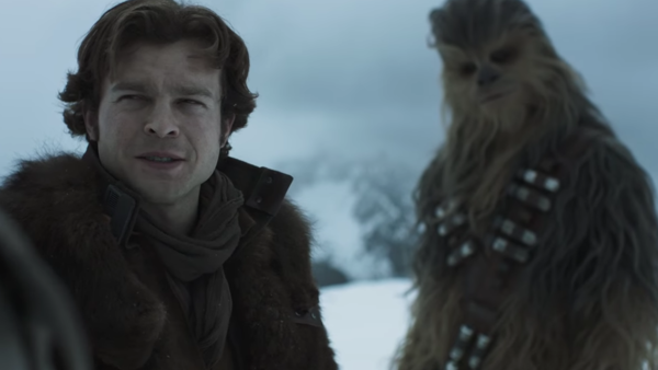 Solo A Star Wars Story Han Chewie