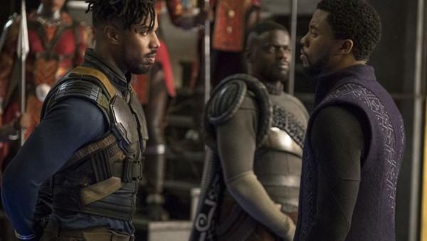 Black Panther Michael B Jordan Chadwick Boseman