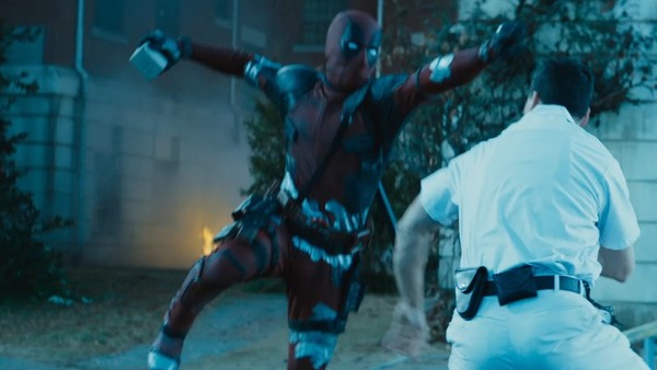 Image result for deadpool 2 duct tape suit