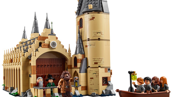 Great Hall LEGO 2