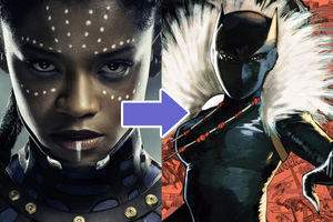 What Marvel's Black Panther Cast Look Like In The Comics