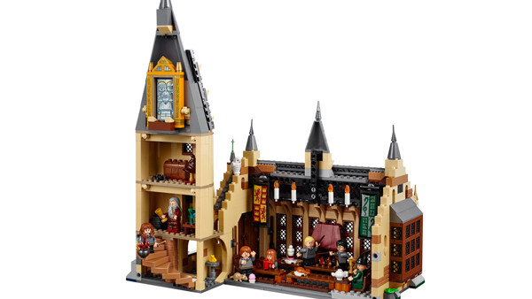 LEGo Great Hall Back