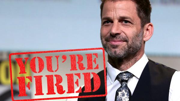 Zack Snyder Fired