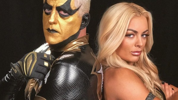 Goldust Mandy Rose