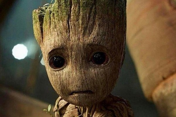 Sad Groot Guardians 2
