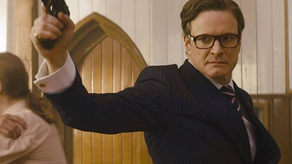 Kingsman The Secret Service Colin Firth Church Scene