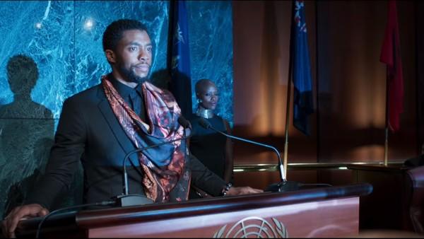 T'Challa UN Black Panther