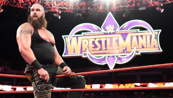 braun strowman wrestlemania logo