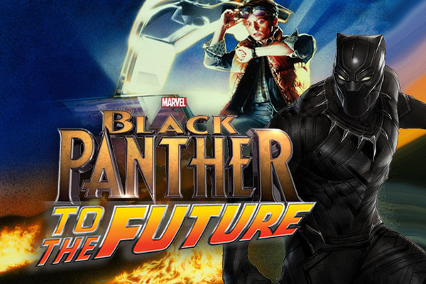 Black Panther Back To The Future