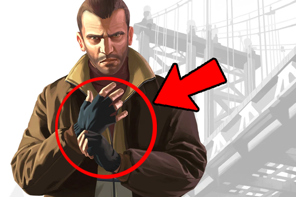 GTA 4 Gloves