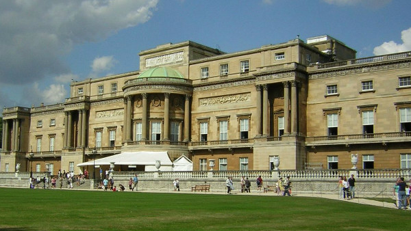Buckingham Palace West Facade