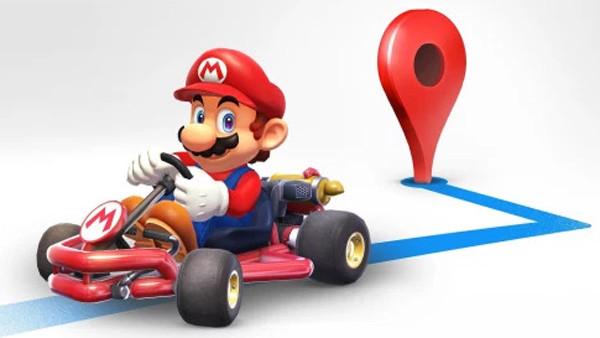 Mario Kart Google
