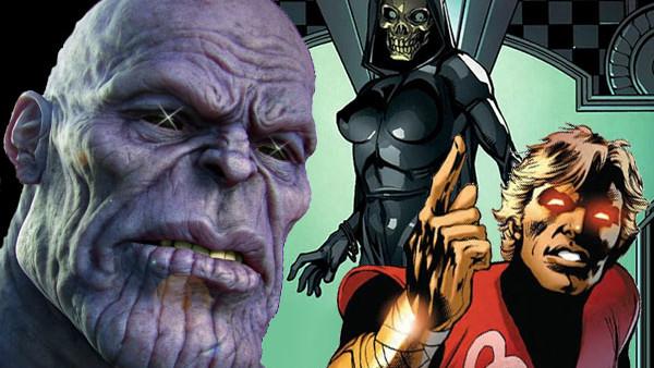 Thanos Adam Warlock Death