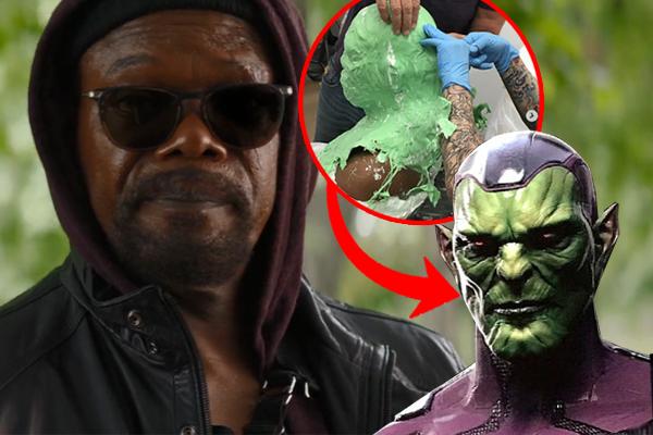 Infinity War Nick Fury Skrull
