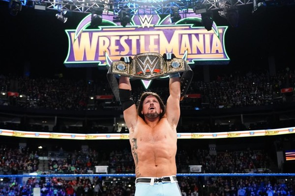 AJ Styles Fastlane 2018