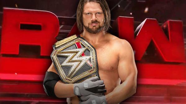 reputable site 4fa81 fbee7 AJ Styles Raw WWE