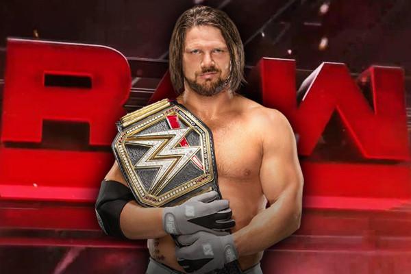 AJ Styles Raw