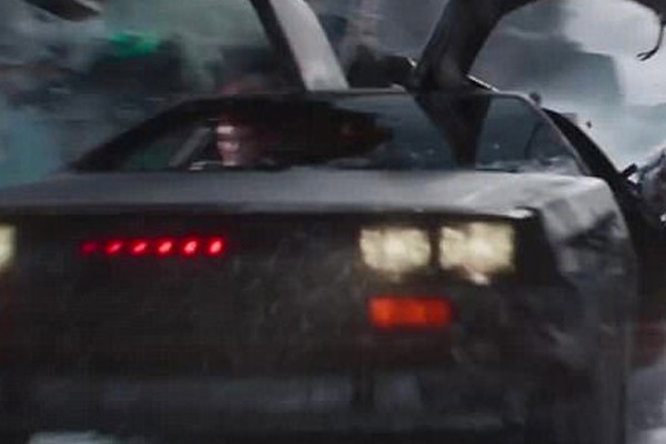 Ready Player One DeLorean Visor