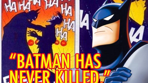 Batman Has Never Killed