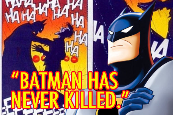 Batman Has Never Killed