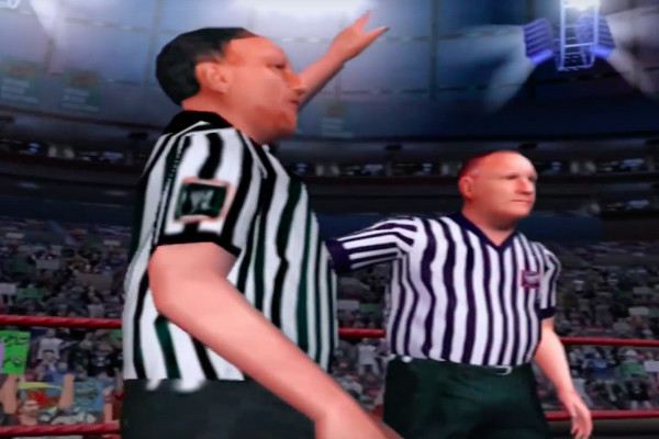 WWE SmackDown Here Comes The Pain Referee