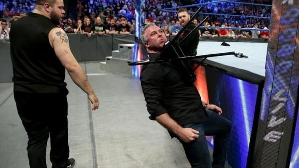 Kevin Owens Shane McMahon