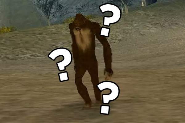 GTA san andreas bigfoot
