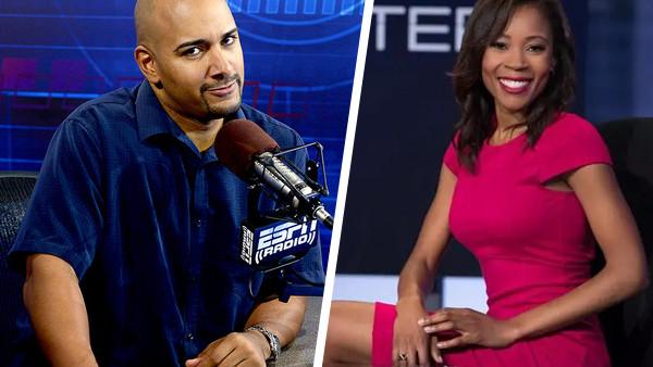 Jonathan Coachman Adrienne Lawrence ESPN