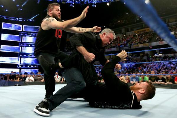 Kevin Owens Sami Zayn Shane McMahon