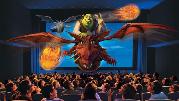 Shrek 4 D Universal Orlando