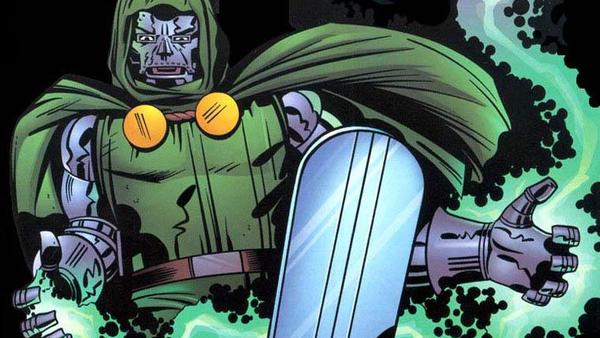 Doctor Doom Silver Surfer board