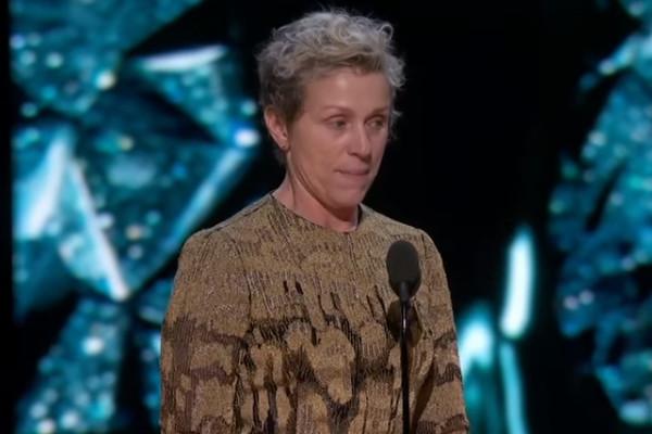 Oscars 2018 Frances McDormand