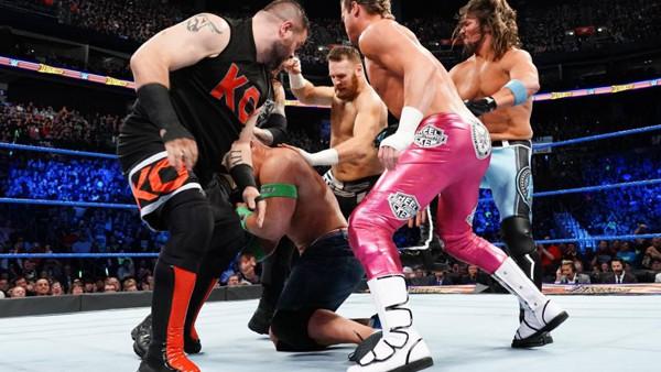 WWE Fastlane 2018 6 Pack Challenge