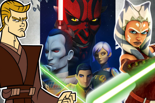 star wars ranking every animated series from worst to best