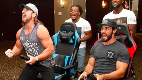 UpUpDownDown WWE