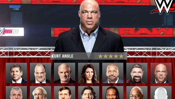 WWE 2K18 GM Mode