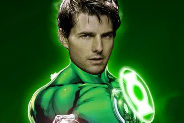 Tom Cruise Green Lantern