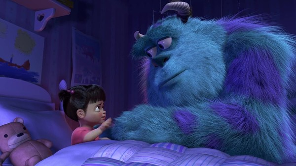 Monsters Inc Sully Boo