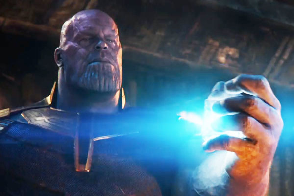 Thanos Tesseract Infinity War