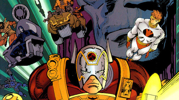 New Gods Orion Darkseid