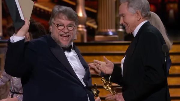 Oscars 2018 Guillermo Del Toro