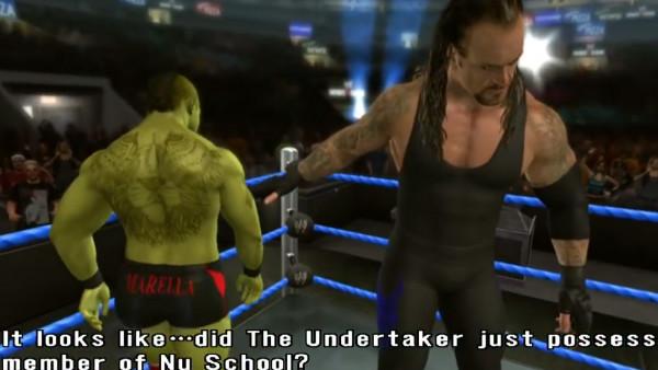 WWE SmackDown Vs Raw 2009 Zombie