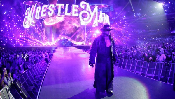 The Undertaker WrestleMania 34