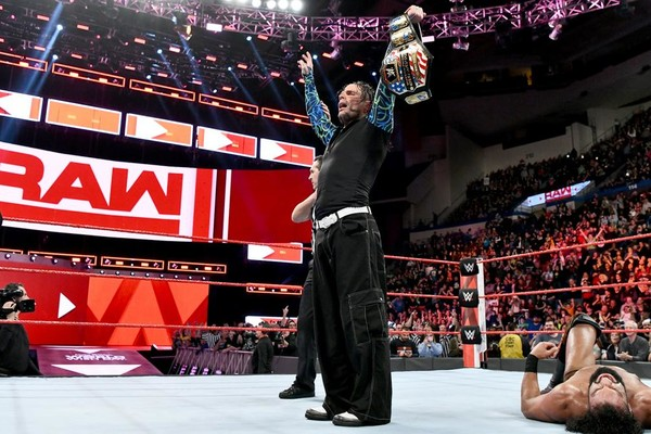 Jeff Hardy Raw US Title