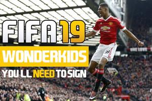 FIFA 19 WONDERKIDS